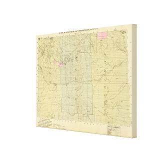Sioux, Dawes, and Sheridan County, Nebraska Canvas Print