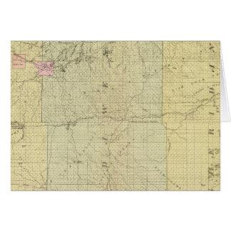 Sioux, Dawes, and Sheridan County, Nebraska Card