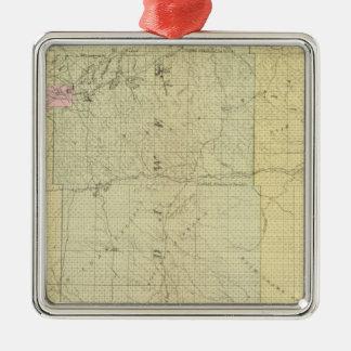 Sioux, Dawes, and Sheridan County, Nebraska Metal Ornament