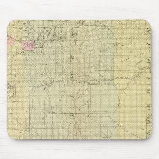 Sioux, Dawes, and Sheridan County, Nebraska Mouse Pad