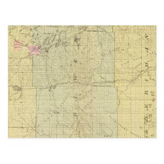 Sioux, Dawes, and Sheridan County, Nebraska Postcard