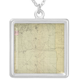 Sioux, Dawes, and Sheridan County, Nebraska Silver Plated Necklace