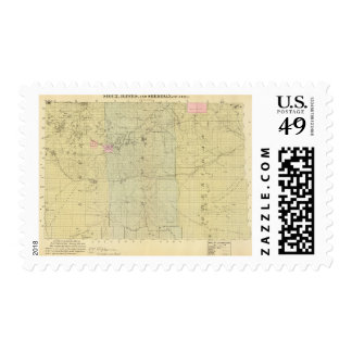 Sioux, Dawes, and Sheridan County, Nebraska Stamp