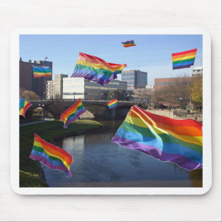 Sioux Falls Flying Pride Mouse Pad