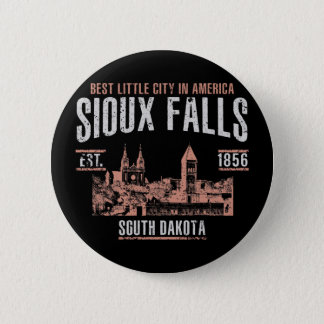 Sioux Falls Pinback Button