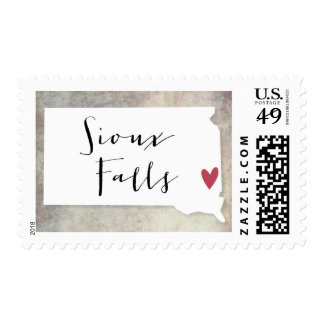 Sioux Falls, SD Postage