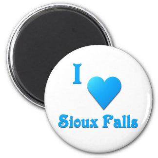 Sioux Falls -- Sky Blue Fridge Magnets