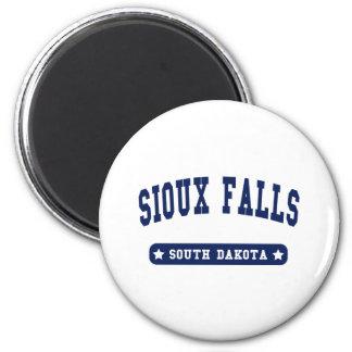 Sioux Falls South Dakota College Style tee shirts Fridge Magnet