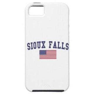 Sioux Falls US Flag iPhone SE/5/5s Case