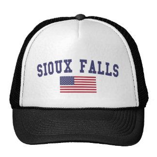 Sioux Falls US Flag Trucker Hat