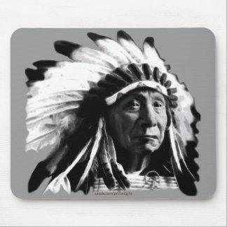 Sioux Historic Native American Chief Joseph Mousepad