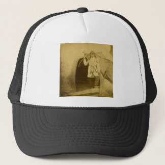 Sioux Hunter with Bow by Tee Pee Trucker Hat