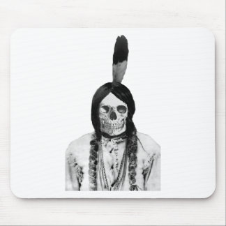Sioux Indian chief vintage Mouse Pad