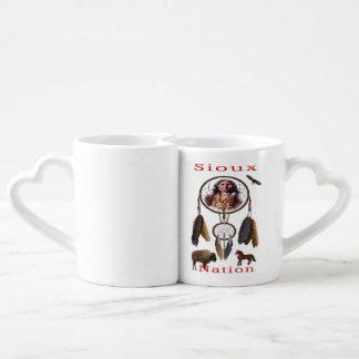 Sioux Nation mercnandise Coffee Mug Set