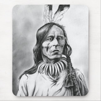 Sioux Shaman Mouse Pad