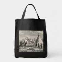 Sioux Village, circa 1876 bag