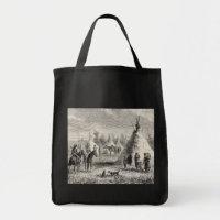 Sioux Village, circa 1876 bag
