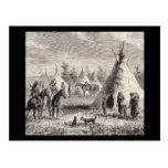 Sioux Village, circa 1876 Post Card