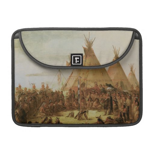 Sioux War Council Sleeve For MacBook Pro