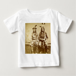Sioux Warriors with Repeating Rifles Vintage T-shirt