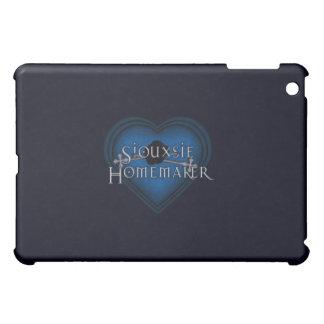 Siouxsie Homemaker Blue Knitting iPad Mini Case