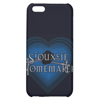 Siouxsie Homemaker Blue Knitting iPhone 5C Cases