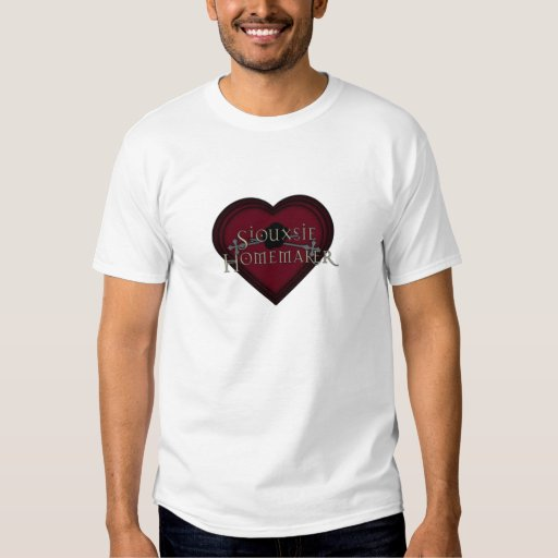 Siouxsie Homemaker Gothic Heart Shirts