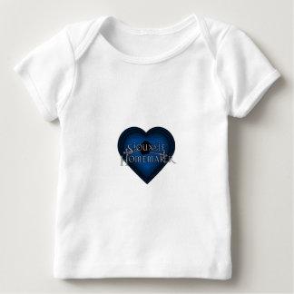 Siouxsie Homemaker Knitting (Blue) Baby T-Shirt