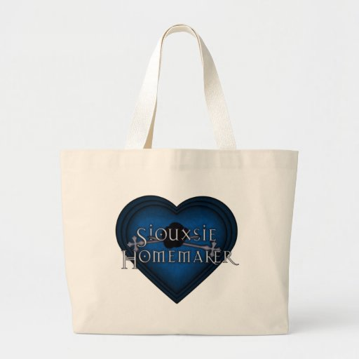 Siouxsie Homemaker Knitting (Blue) Bags