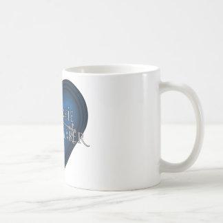 Siouxsie Homemaker Knitting (Blue) Coffee Mug