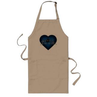 Siouxsie Homemaker Knitting (Blue) Long Apron