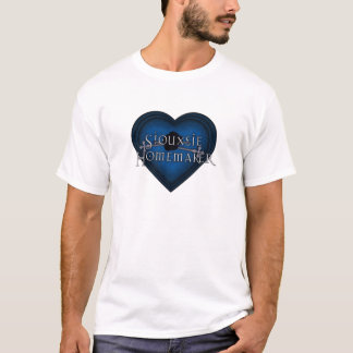 Siouxsie Homemaker Knitting (Blue) T-Shirt
