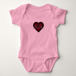 Siouxsie Homemaker Knitting (Red) Baby Bodysuit