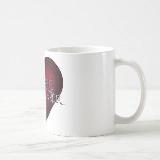 Siouxsie Homemaker Knitting (Red) Coffee Mug