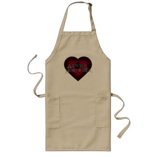 Siouxsie Homemaker Knitting (Red) Long Apron