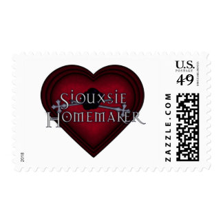 Siouxsie Homemaker Knitting (Red) Postage