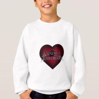 Siouxsie Homemaker Knitting (Red) Sweatshirt