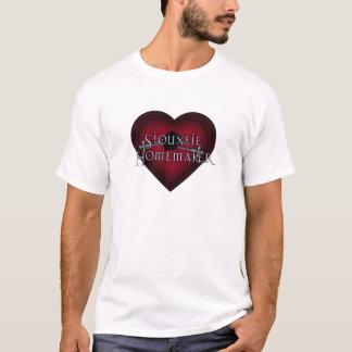 Siouxsie Homemaker Knitting (Red) T-Shirt