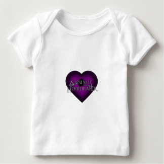 Siouxsie Homemaker Knitting (Violet) Baby T-Shirt