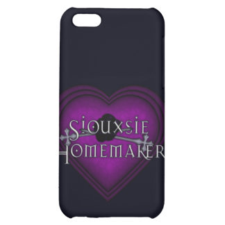 Siouxsie Homemaker Purple Knitting iPhone 5C Case