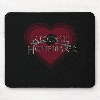 Siouxsie Homemaker Red Mouse Pad