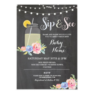 sip and see invitations zazzle