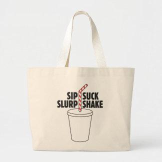 Sip Suck Slurp Shake Bag