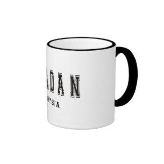 Sipadan Malaysia Ringer Coffee Mug