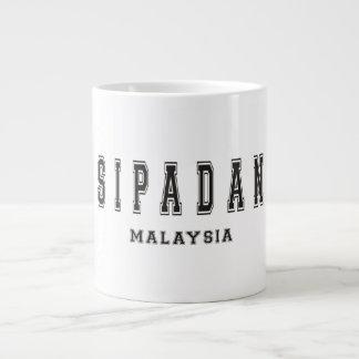 Sipadan Malaysia 20 Oz Large Ceramic Coffee Mug