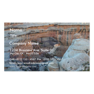 Sipapu Bridge At Natural Bridges National Monument Double-Sided Standard Business Cards (Pack Of 100)