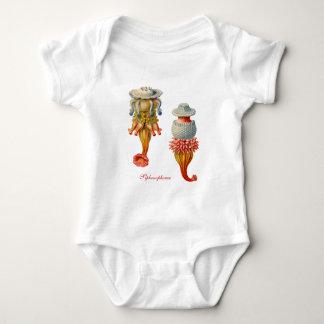 Siphonophorae  - Jellyfish Baby Bodysuit