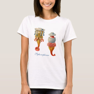 Siphonophorae  - Jellyfish baby doll T T-Shirt