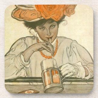 Sipper de la fuente de soda del vintage del prácti posavasos de bebidas