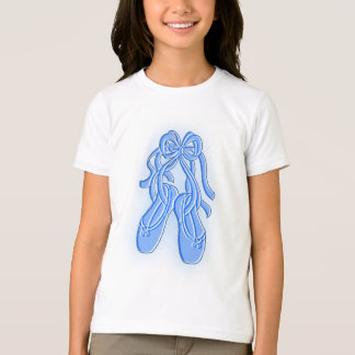 Sippers azules del ballet playera